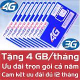 Sim 4G Mobifone 4Gb Trong 12 Thang Cam Kết Đủ 12 Thang Rẻ