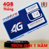 Giá Bán Sim 4G Mobifone Mdt250A Trọn Goi 1 Năm 4Gb Thang Nguyên Mobifone