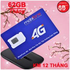 Chiết Khấu Sản Phẩm Sim 4G Mobifone Tặng 62G Thang Tốc Độ Cao