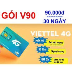 Chiết Khấu Sim 4G Viettel Goi Cước V90 Viettel 4G Trong Việt Nam