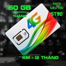 Hình ảnh Sim 4G Viettel ST90 ưu đãi 60GB/tháng