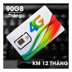 SIM 4G Viettel thần thánh MT5C 90GB/Tháng (3GB/Ngày)