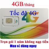 Mua Sim 4G Viettel Trọn Goi 1 Năm 50Gb Tốc Độ Cao 4Gb Thang Rẻ Trong Việt Nam