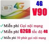 Mua Sim 4G Viettel V90 60Gb 4350 Phut Gọi Miễn Phi Thang Mới