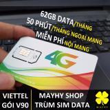 Giá Bán Sim 4G Viettel V90 Nghe Gọi Thả Ga Va 60Gb Thang Data Tốc Độ Cao Viettel