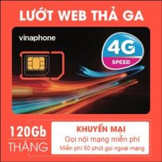 Hình ảnh Sim 4G Vinaphone Tặng 120G/tháng + Gọi thả ga
