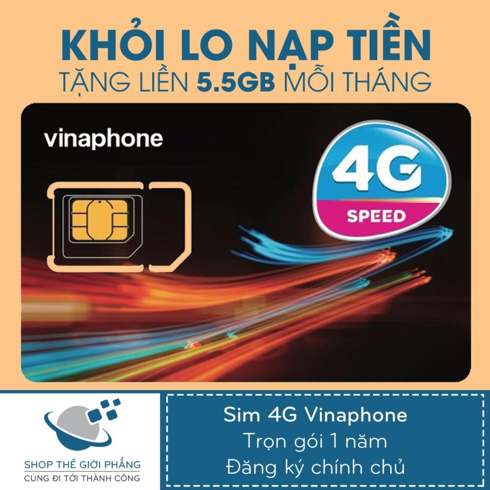 Sim 4G Vinaphone Trọn Gói 1 Năm Không Cần Nạp Tiền