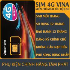 Giá Bán Sim 4G Vinaphone Trọn Goi 1 Năm Tốc Độ Cao Vinaphone Vietnam