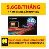 Bán Sim 4G Vinaphone Trọn Goi 12 Thang Khong Nạp Tiền 5 5Gb 1 Thang Rẻ Hồ Chí Minh