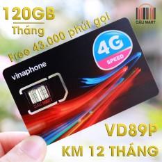 Hình ảnh SIM 4G Vinaphone VD89P 120GB/Tháng + Miễn Phí 43.000 Phút gọi/tháng