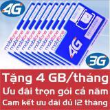 Sim 4G 3G Mobifone Trọn Goi 12 Thang 4 Gb Thang Tốc Độ Cao Cam Kết Đủ 12 Thang Mobifone Chiết Khấu 30