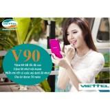 Sim Data Thoại 4G Viettel V90 60Gb 4350 Phut Gọi Miễn Phi Thang Trong Hà Nội