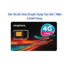 Mã Khuyến Mại Sim Dcom 3G 4G Vinaphone Sử Dụng 1 Năm 5 5Gb Thang Rẻ