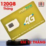 Giá Bán Sim Mobifone 4G Tặng 120Gb Thang 12 Thang Free Thang Đầu Wf10 Mobifone Nguyên