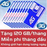 Mua Sim Mobifone 4G 3G Dung Lượng 120 Gb Thang Mới Nhất