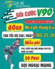 Sim V90 Viettel Miễn Phi Thang Đầu Trong Việt Nam
