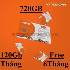 Ôn Tập Sim 3G Thanh Sim Vietnamobile Miễn Phi 6 Thang 720Gb Cà Mau