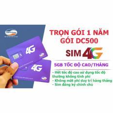 Giá Bán Viettel Trọn Goi 4G 1 Năm Dc500