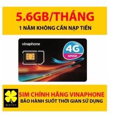 Sim Vinaphone 4G Vina12T Trọn Gói 1 Năm Với 5.5GB/tháng đã Kích Hoạt, Không Cần Nạp Tiền, Không Mất Phí Duy Trì Đang Ưu Đãi Giá