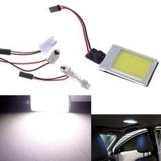 Hình ảnh Simida Technology Smart Life 8W T10 Dome Festoon Car Auto Vehicle License Plate COB LED Light Lamps White - intl