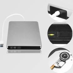 Slim External DVD Drive Player CD-RW Burner USB 3.0 Win 2000 XP 7 8 10 Portable - intl