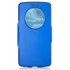 Smart Flip Slim Armor Back Cover For LG Optimus G3 - Intl (Color:Blue) - intl