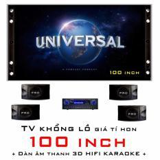 Hình ảnh Smart TV Projector 100inch. Home Cine PRO100X. Rạp chiếu phim tại nhà