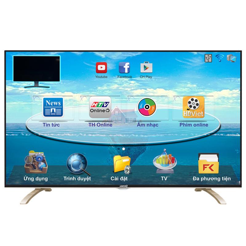 Bảng giá Smart Tivi ASANZO 40inch Full HD - Model 40E800 (Đen)