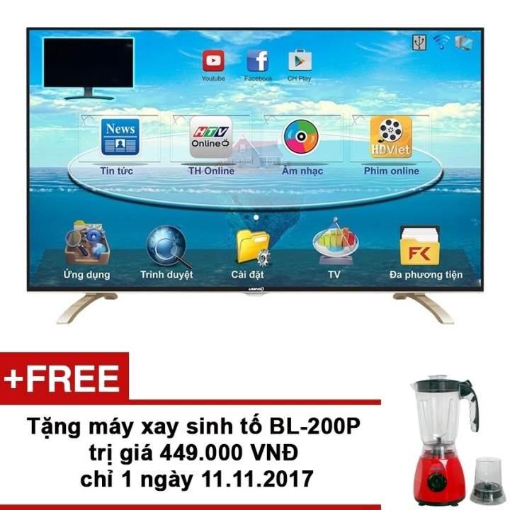 Smart Tivi LED Asanzo 43 inch Full HD - Model...