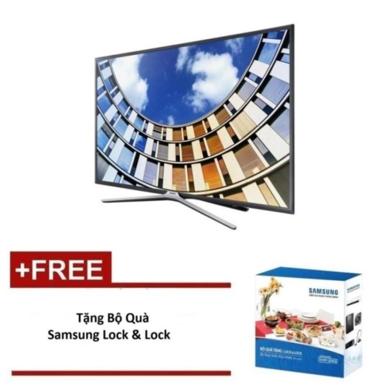 Bảng giá Smart TV Samsung 43 inch Full HD - Model UA43M5500AKXXV (Đen) - Tặng bộ quà Lock&Lock