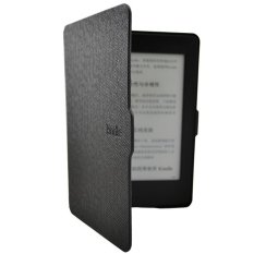Ôn Tập Smart Ultra Slim Magnetic Case Cover For Kindle Paperwhite Screen Film Black Intl