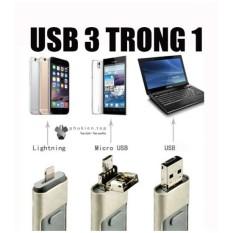 Smart USB Đa năng 3 trong 1 (USB/Android OTG/ Iphone IOS) 16GB