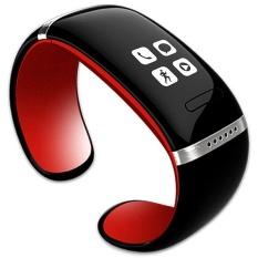 Hình ảnh Vòng Đeo Tay thông minh L12S OLED Bluetooth Vòng Tay Đồng Hồ Đeo Tay Thiết Kế cho IOS Android Điện Thoại Đeo Điện Tử (Màu Đỏ)-quốc tế