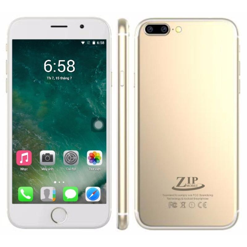 Smartphone Zip8 4Gb ( Gold)- Hàng nhập khẩu+ Tặng kèm ốp dẻo