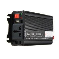Hình ảnh Solar Power Inverter 300W Peak 12V DC To 220V AC Modified Sine Wave Converter - intl