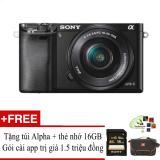Bán Sony A6000 24 3Mp Với Lens Kit 16 50 Đen Hỗ Trợ Cai Miễn Phi Goi App Collection Trực Tuyến Trong Hà Nội