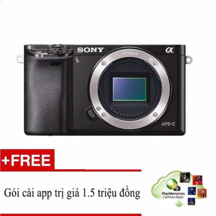 Sony A6000 24.3MP Body (Đen) + Hỗ trợ cài miễn...