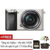 Mã Khuyến Mại Sony A6000 24 3Mp Với Lens Kit 16 50 Bạc Hỗ Trợ Cai Miễn Phi Goi App Collection Hà Nội