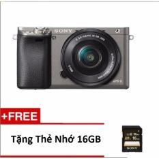 Cửa Hàng Bán Sony Alpha A6000 Ilce 6000L B E 16 50Mm F3 5 5 6 Oss Lens Kit Tặng Thẻ 16Gb