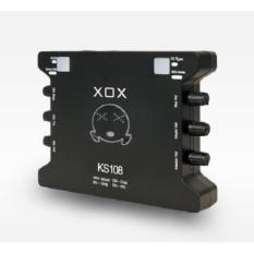 Hình ảnh Sound Card Âm Thanh XOX K10 Phiên Bản Tiếng Anh XOX KS108