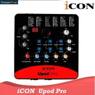 Sound Card Thu Âm ICON Upod Pro thumbnail