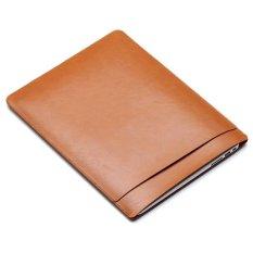 Hình ảnh SOYAN Da Ngựa Túi Đựng Laptop dành cho MacBook Air 13 inch/Pro-Nâu