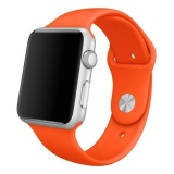 Bán Sport Silicone Bracelet Strap Band For Apple Watch Iwatch 38Mm Orange High Caliber Intl Rẻ Trung Quốc
