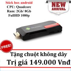 Hình ảnh Stick android tivi box Ram 2gb MK 809iv + chuột không dây