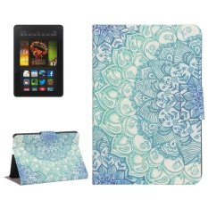 Bán Mua Sunsky Leather Flower Drawing Cover For Amazon Kindle Fire Hdx 7 Multicolor Intl Hong Kong Sar China