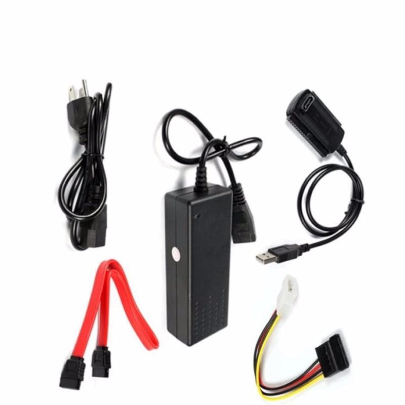 Bảng giá Supply Adapter USB 2.0 to SATA/IDE Cable Converter EU Plug - intl Phong Vũ