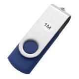 Xoay 1 m 1 mb USB 2.0 Đèn Led Nhớ Ổ Lưu Trữ Ngón Tay Cái Dính Bút Thiết Kế Màu Xanh-quốc tế