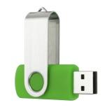 Xoay 1 m 1 mb USB 2.0 Đèn Led Nhớ Ổ Lưu Trữ Ngón Tay Cái Dính Bút Thiết Kế Xanh Lá-quốc tế