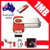 Xoay 1 m 1 mb USB 2.0 Đèn Led Nhớ Ổ Lưu Trữ Ngón Tay Cái Dính Bút Thiết Kế-Đỏ-quốc tế