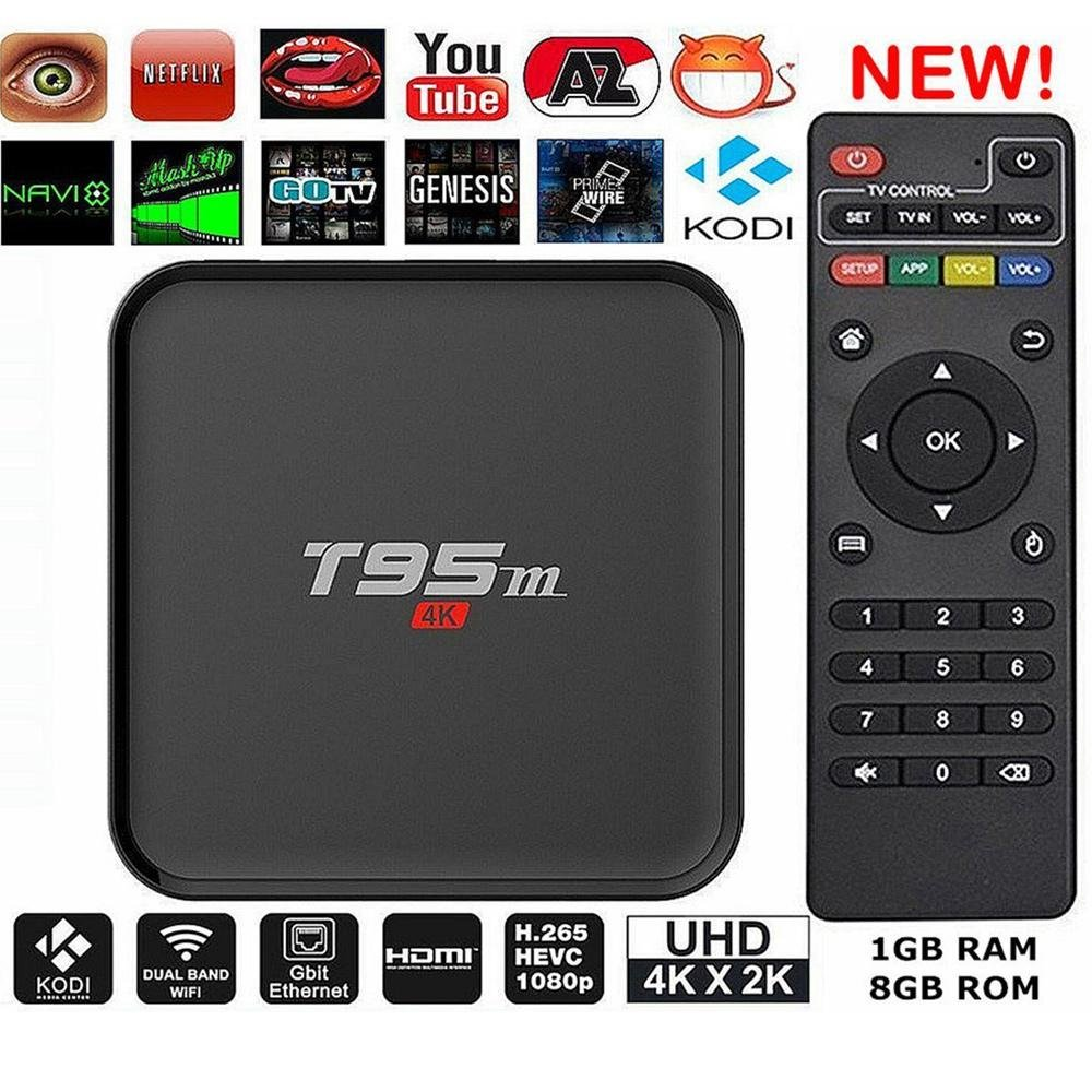 T95M Android 5.1 Amlogic S905X Tv Box 1